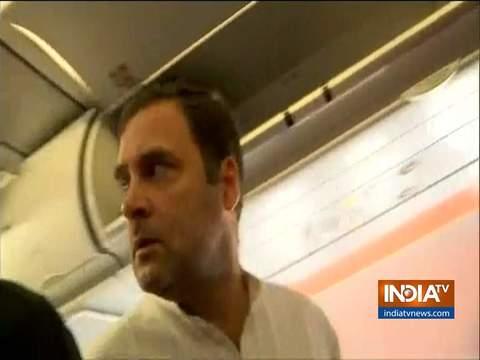 कश्मीर के लिए रवाना हुए राहुल गांधी और कई अन्य विपक्षी नेता