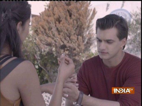 Kartik's romantic proposal to Naira in Greece