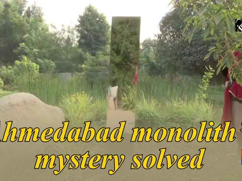 Ahmedabad monolith's mystery solved