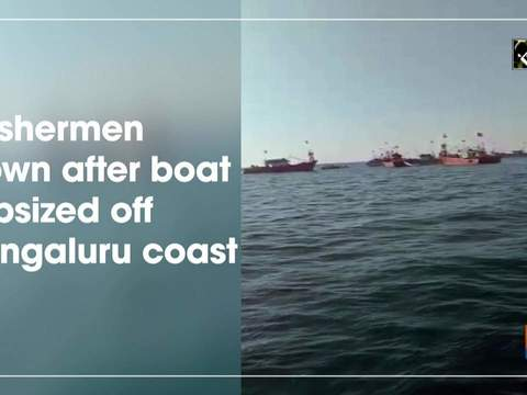 2 fishermen drown after boat capsized off Mangaluru coast