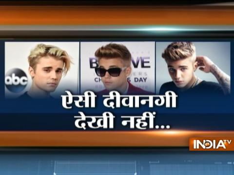 Fans go crazy as Justin Bieber finally arrives in India for his concert in Mumbai
