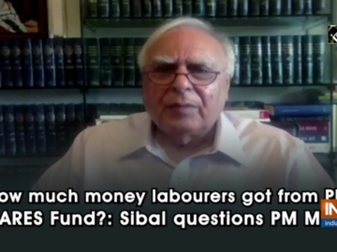 How much money labourers got from PM CARES Fund?: Sibal questions PM Modi