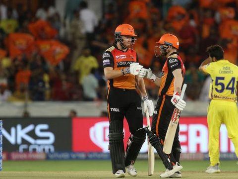 IPL 2019, SRH vs CSK: जॉनी बेयरस्टो और वार्नर के अर्धशतकों से हैदराबाद की चौथी जीत, चेन्नई की दूसरी हार