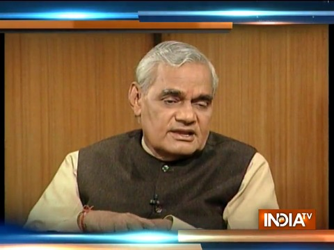 RIP Atal Bihari Vajpayee: This is what former PM said about RSS on Aap Ki Adalat