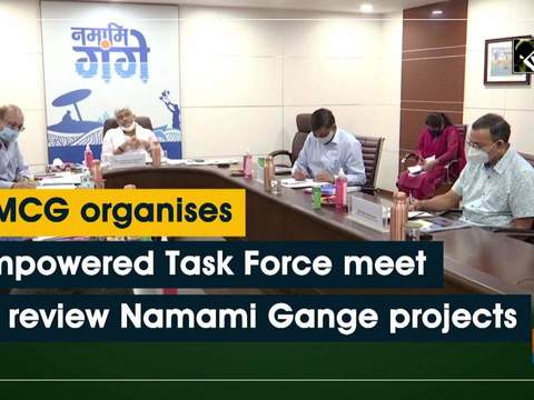 NMCG organises Empowered Task Force meet to review Namami Gange projects