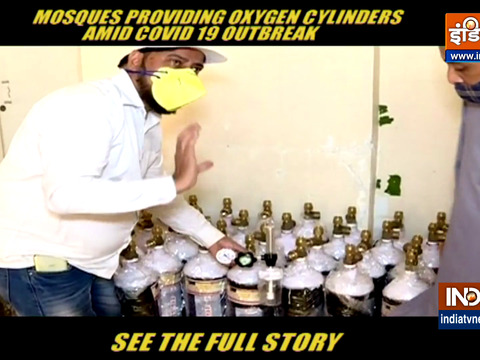 Mosques in Mumbai offer free oxygen cylinders to COVID-19 patients