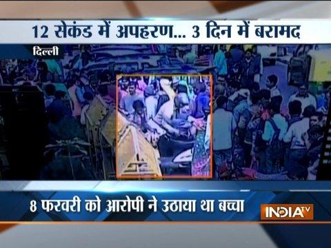 Delhi police arrested kidnapper