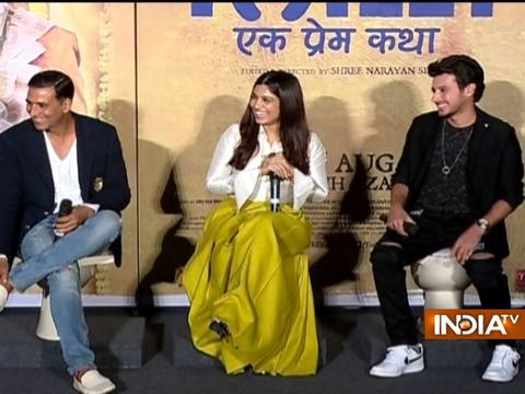 Akshay Kumar reveals details about Toilet: Ek Prem Katha at press conference in Mumbai