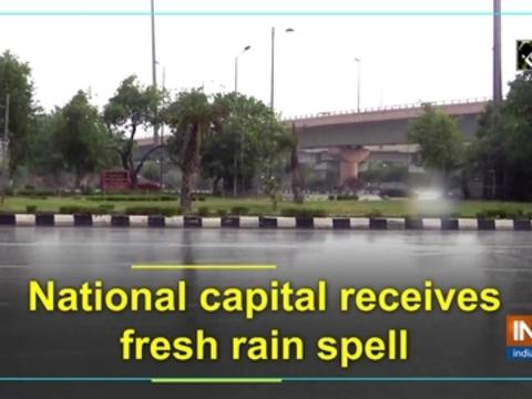 National capital receives fresh rain spell