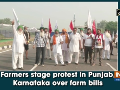 Farmers stage protest in Punjab, Karnataka over farm bills