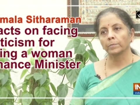 Nirmala Sitharaman reacts on facing criticism for being a woman Finance Minister