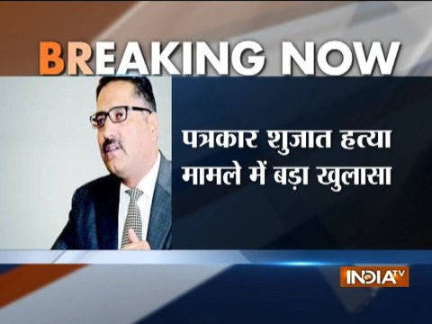 Hurriyat hand likely behind journalist Shujaat Bukhari murder in Srinagar