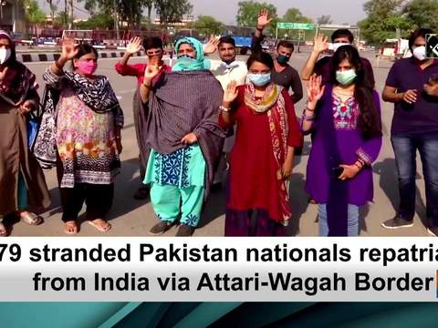 179 stranded Pakistan nationals repatriated from India via Attari-Wagah Border