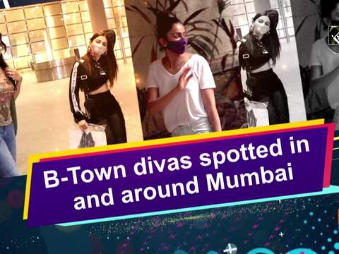B-Town divas spotted in and around Mumbai