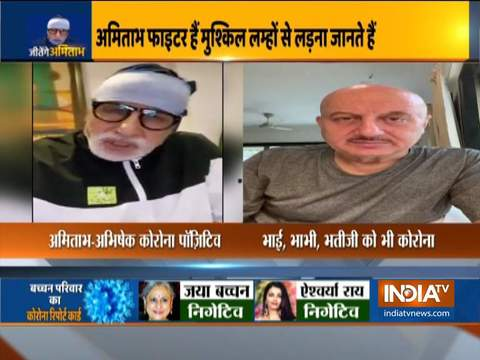 Anupam Kher's mother, brother and sister-in-law test COVID-19 positive