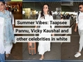 Bollywood celebrities welcome summer in white outfits