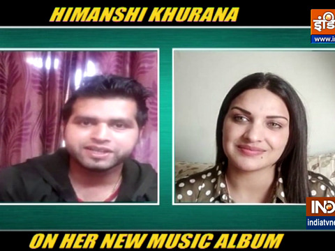 Himanshi Khurana talks about her latest music album