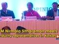 FM Nirmala Sitharaman meets industry representatives in Kolkata