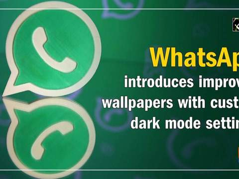 WhatsApp introduces improved wallpapers with custom dark mode settings