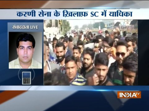 Protests over Padmaavat release: SC to hear contempt petition against Karni Sena members
