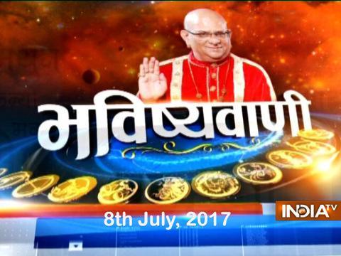 Bhavishyavani : Daily Horoscopes and Numerology | 8th July, 2017 - India TV