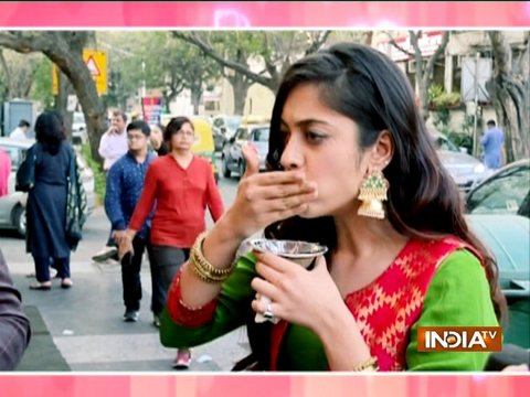 Meera and Vivaan's pani puri competition