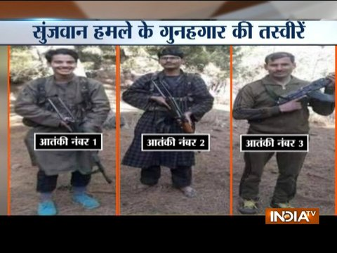 Police identifies militants killed in an encounter with army forces in Sunjuwan