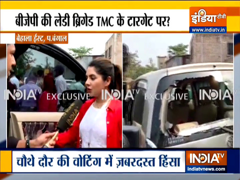 Bengal Polls 2021: Violence mars 4th phase polling, Payel Sarkar and Locket Chatterjee's car attacked