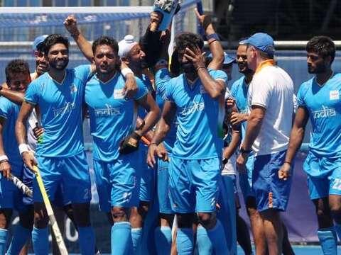 Tokyo Olympics 2020:  भारत को 41 साल बाद हॉकी में मिला मेडल, ब्रांज मेडल मुकाबले में जर्मनी को 5-4 से हराया