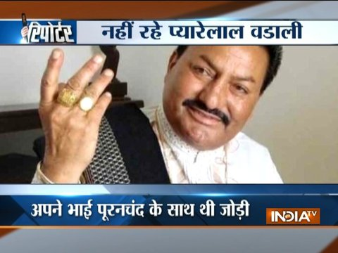 Sufi singer Pyare Lal Wadali passes away after cardiac arrest