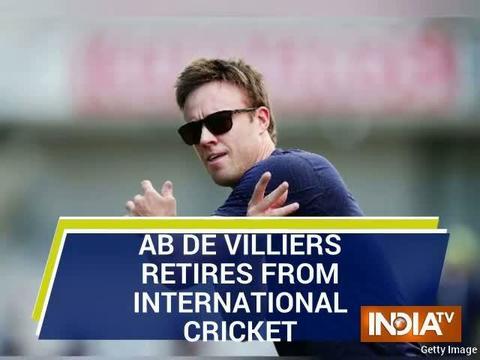 AB de Villiers announces shock retirement from international cricket