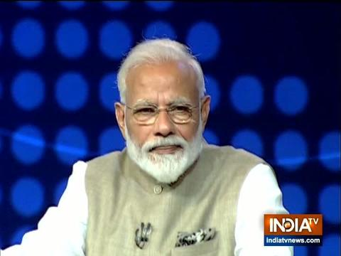 I have made laws that no one can escape with the country's money: PM Modi to India TV
