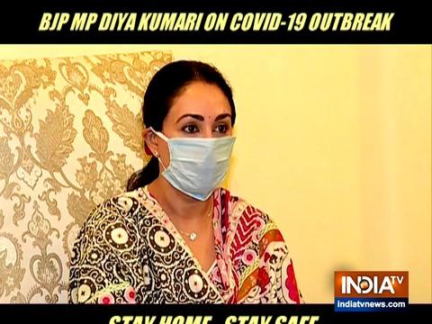 सरकार को COVID-19 के खिलाफ लड़ाई जीतने में लोगों के समर्थन की आवश्यकता है: भाजपा सांसद दीया कुमारी