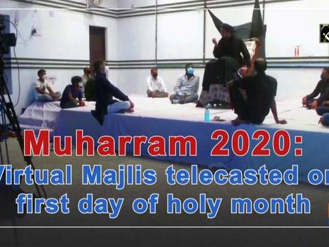 Muharram 2020: Virtual Majlis telecasted on first day of holy month