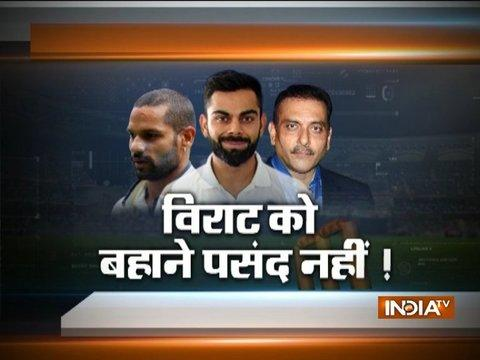 Indian opener Shikhar Dhawan doubtful for 1st Test against South Africa