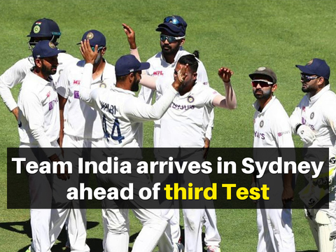 AUS vs IND: Team India arrives in Sydney ahead of third Test