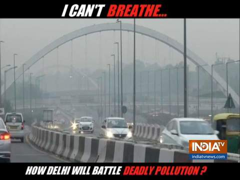 Air Quality in New Delhi worsens after Dussehra celebrations