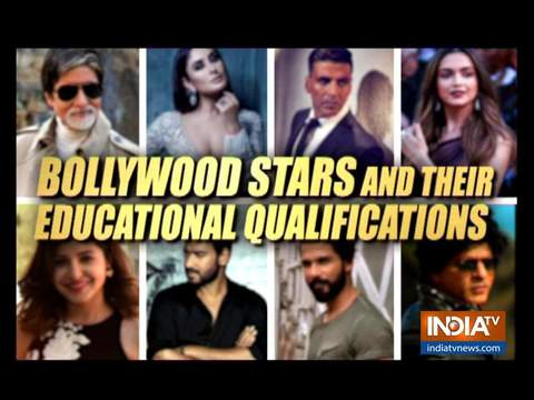 Bollywood stars and their educational qualifications