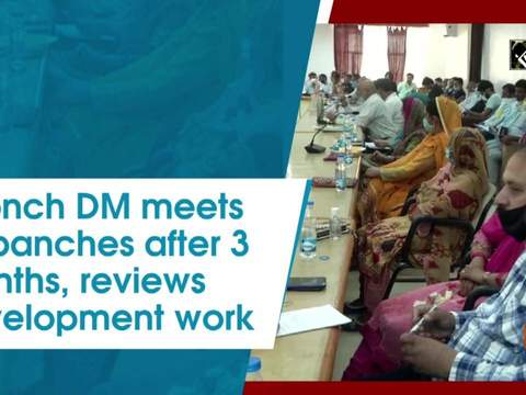 Poonch DM meets sarpanches after 3 months, reviews development work