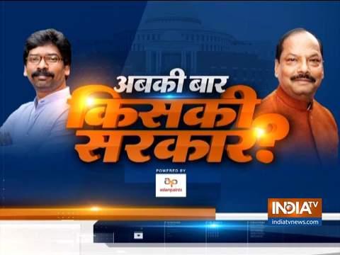 झारखंड विधानसभा चुनाव: जमशेदपुर में सीएम रघुवर दास का चुनावी अभियान