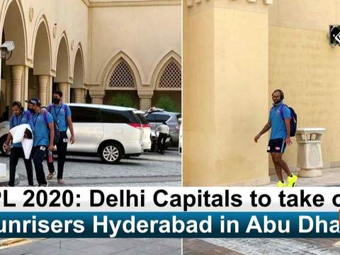 IPL 2020: Delhi Capitals to take on Sunrisers Hyderabad in Abu Dhabi