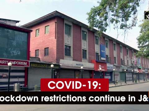 COVID-19: Lockdown restrictions continue in JK