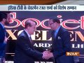 IndiaTV Chairman Rajat Sharma honoured with Society Excellence Award 2018 in Delhi