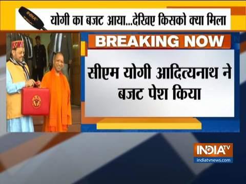 UP: Yogi Adityanath presents deficit budget for 2020-21