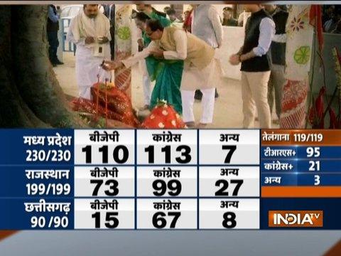 मध्य प्रदेश में कांग्रेस-बीजेपी में काटें की टक्कर जारी