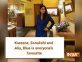 Kareena, Sonakshi and Alia; bold hue of blue seems to be everyone's favourite