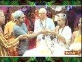 TV celebs offer prayers at ISKON temple