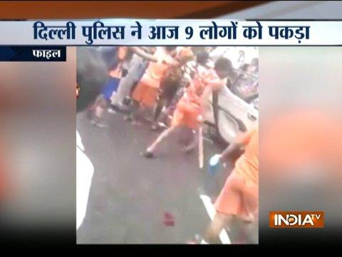 दिल्ली के मोती नगर में कार में तोड़फोड़ मामले में नौ और कांवरिए गिरफ्तार