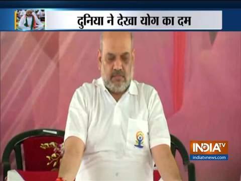 International Yoga Day 2019: PM Narendra Modi to lead celebrations in Ranchi, Amit Shah in Rohtak
