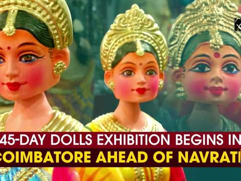45-day dolls exhibition begins in Coimbatore ahead of Navratri